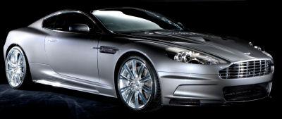 Photo du design extérieur de la nouvelle Aston Martin DBS