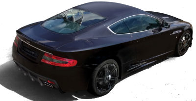 Photo du design extérieur de la nouvelle Aston Martin Mansory DB9